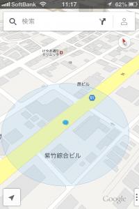 GoogleMapの3D表示